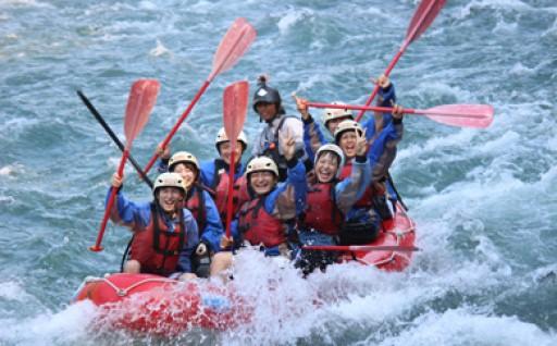 九州の日本三急流球磨川で心と身体で大自然を体験!