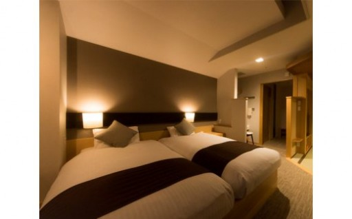 横手温泉Hotel plaza迎賓 ペア宿泊券