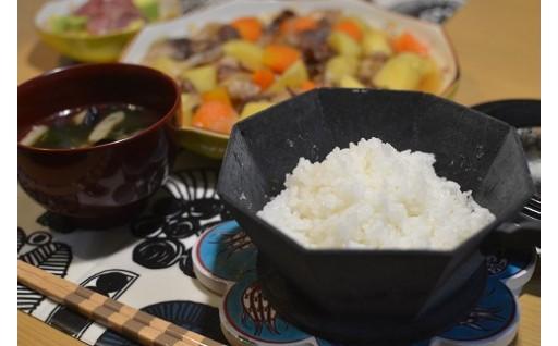 鉄の羽釜のおいしいごはんを再現した炊飯器具