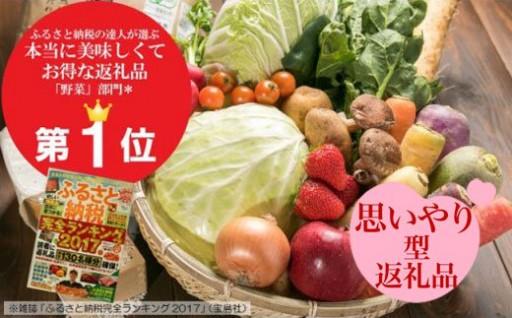北上ふるさと納税 No.1人気の野菜セットを毎月