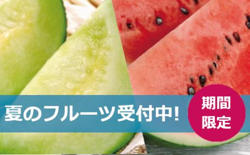 期間限定◎夏のフルーツ予約受付中!!