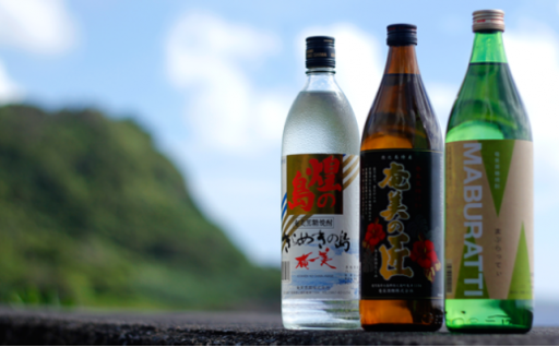 黒糖焼酎~MABURATTI、奄美の匠、煌の島~