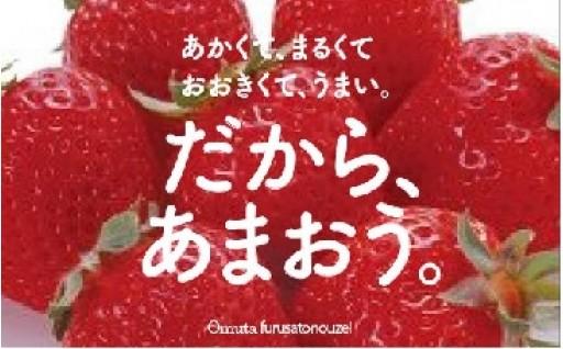 【大牟田市】★あまおう★ いかがですか?