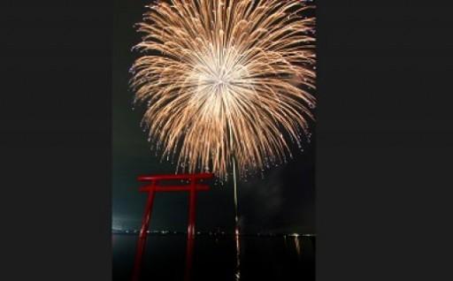 鹿嶋市花火大会 ペア特別観覧席&市内ホテル宿泊券