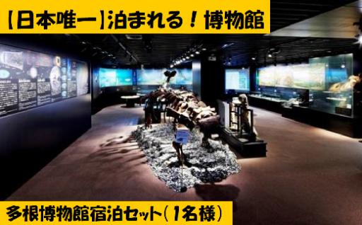 【夏休みのお子様に】日本唯一の泊まれる博物館!