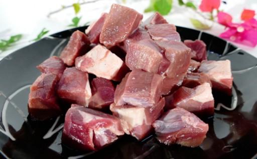 徳之島イノシシモモ肉(サイコロカット)5kg