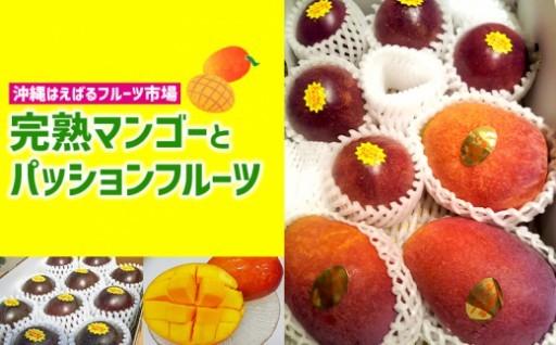 <南風原産>マンゴー&パッションフルーツセット