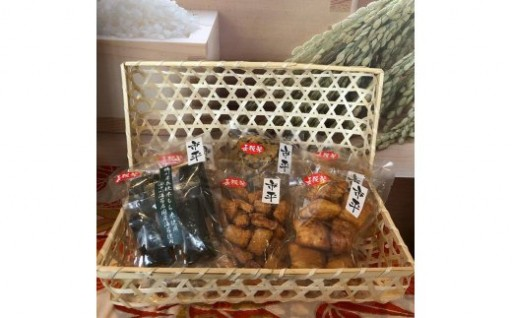 千葉ブランド「長狭米」で作った絶品おかきセット