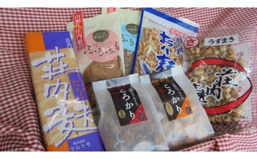 江戸時代から続く庄内麩!お味噌汁でもお菓子でも!