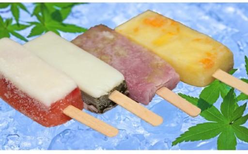 暑い夏に新食感アイスでひんやり~♪