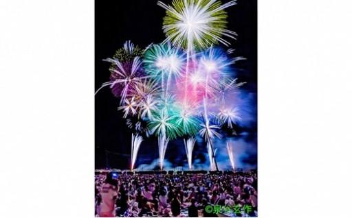 ふくろい遠州の花火(8月10日)ペアチケット