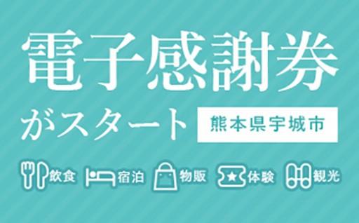 【熊本県宇城市】電子感謝券がスタートしました!