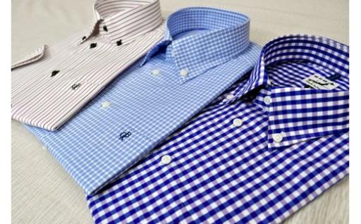 夏にぴったり播州織半袖シャツです!
