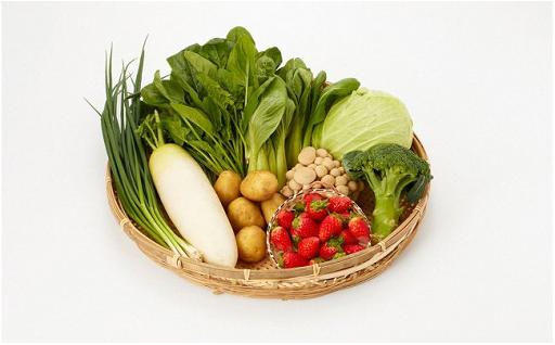 鳥取のおいしいお水で育った季節の野菜をお届け!