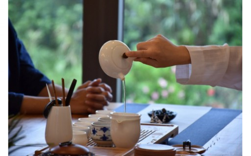 ランチ付き瞑想会&中国式禅茶会【2名様】