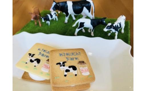放牧牛のミルクアイスサンドクッキーが出来ました
