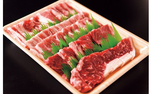 鳥取県産牛・豚肉 焼肉用(700g)