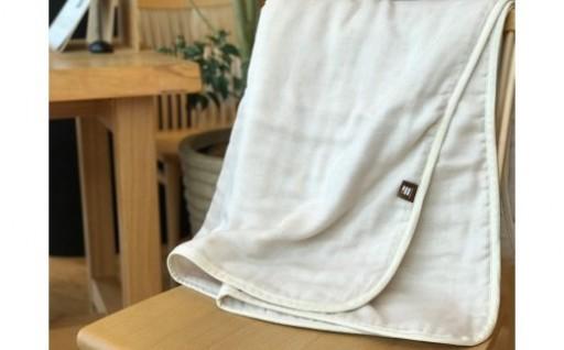 ふっくらやさしい♪三河木綿のガーゼケット