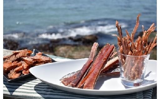 「鮭とば」食べ比べセット、好評受付中です!