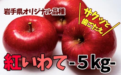 八幡平市産りんご『紅いわて』5㎏予約開始!!
