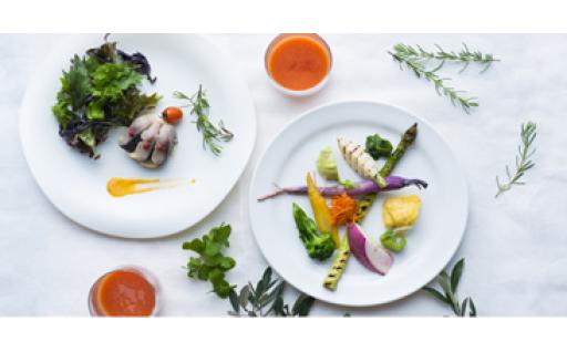 固定種野菜を使ったふるさと納税オリジナルコース