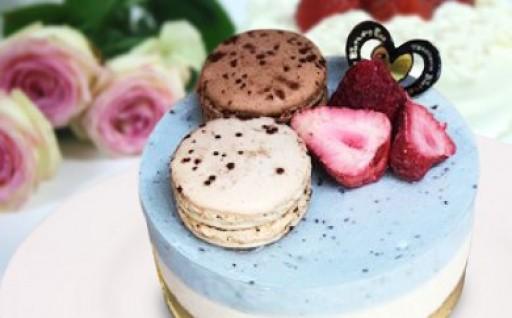 夏においしいミントの冷凍ケーキ