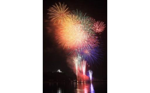 木曽川から眺める花火大会の観覧席チケットです!