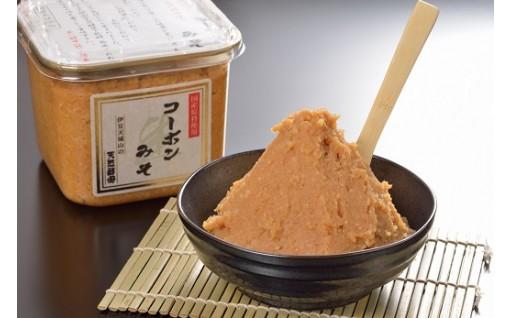 昭和から受け継がれる天然酵母のコーボンみそ