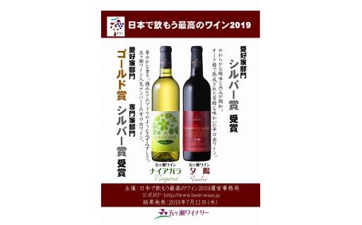 日本で飲もう最高のワイン2019 受賞!