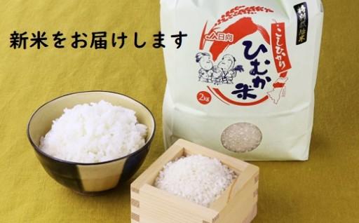 ひむか特別栽培米(こしひかり)新米をお届けします