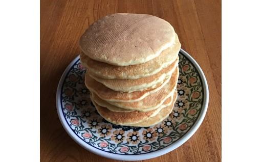 お米農家の玄米粉のホットケーキミックスが登場!