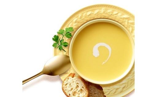 十勝産ゴールドラッシュを贅沢に使ったコーンスープ