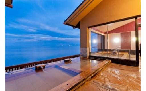 竹崎カニの会席料理とたら竹崎温泉「海上館」宿泊!
