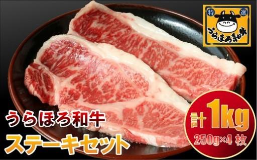 【残りわずか】うらほろ和牛ステーキセット