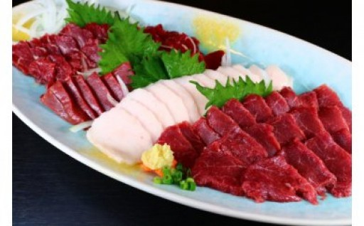 ★☆★八代肉桜特盛馬刺し★☆★