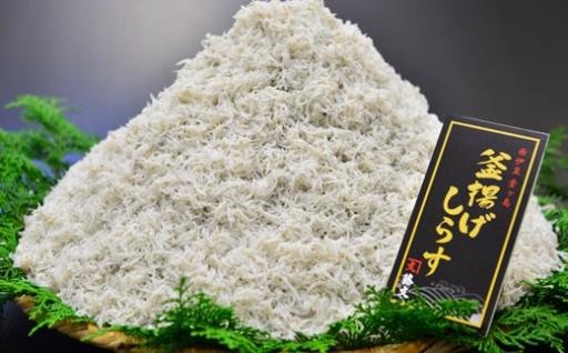 シラス丼をご家庭で!「しらす大漁セット」600g