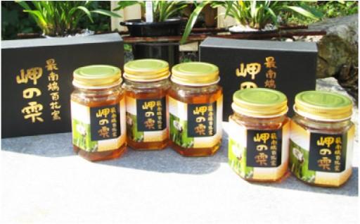 【限定】日本みつばちの蜂蜜【150cc×2本】