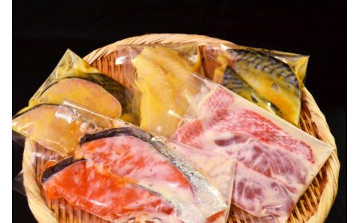 人気の漬け魚をご年配の方にも食べやすく小さめに。