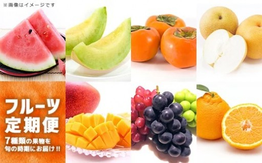 フルーツアドバイザー厳選7種の「フルーツ定期便」