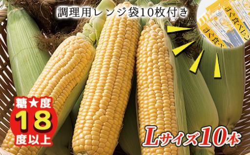 【9/13~出荷開始】上士幌町産スイートコーン