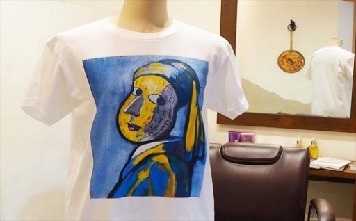 「ぴーちゃん」Tシャツに、新作が登場!