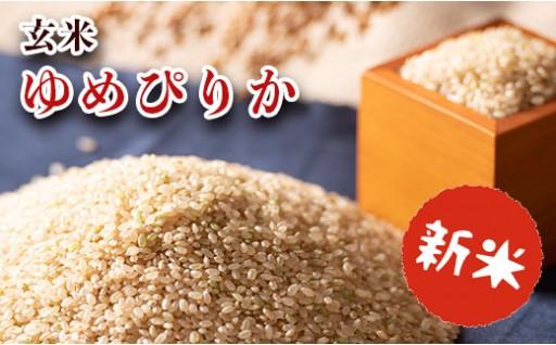「ゆめぴりか」玄米 30kg【令和元年産】