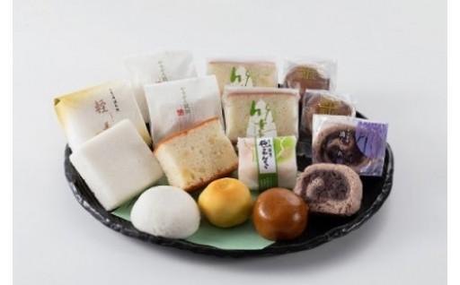鹿児島の銘菓が詰まった和菓子のセットです!!