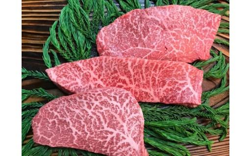 飛騨牛5等級赤身レア部位3種のステーキセット