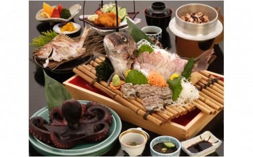 【日間賀島】2名様1泊2食付 海鮮料理宿泊券