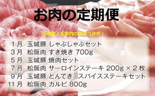 お肉の定期便 玉城豚と松阪肉の夢のコラボ!