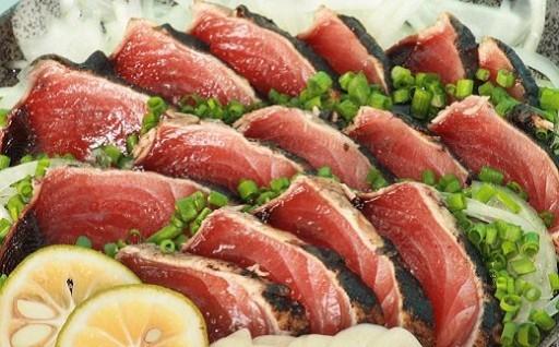 土佐佐賀水産藁焼き鰹たたき2節セット・フレーク付