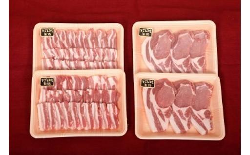 特選黒豚焼肉トンカツセット(約1.6㎏)