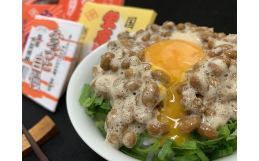 【3ヶ月定期便】宝来納豆詰め合わせ Aセット