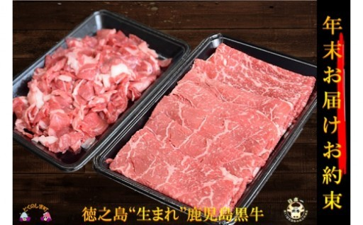 【年末配送】A5等級鹿児島黒牛寄附15,000円